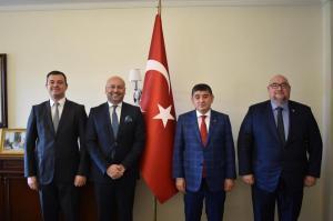 TC Doha Büyükelçisine Nezaket Ziyareti