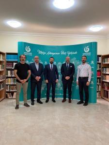 Yunus Emre Enstitüsü'nü ziyaret  (16/09/2020)